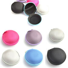 Compact Design Earphone Headphone Earbud Carrying Storage Bag Pouch Hard Case