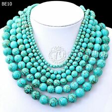 40cm/16inch Green Synthetic Turquoise Wholesale Beads String
