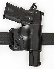Pro Carry Belt Ride - Leather Pistol Holster - Outside The Waistband - New!