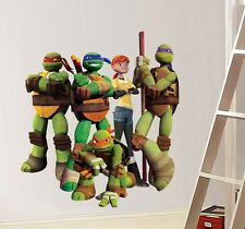TMNT NINJA TURTLES Decal Removable WALL STICKER Home Decor Art FREE SHIPPING