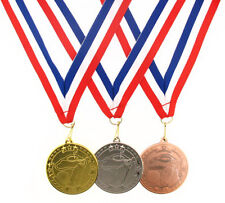 50mm Metal Golf Star Medal-Gold,Silver or Bronze-FREE POSTAGE-FREE ENGRAVING