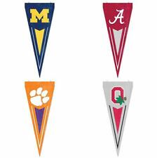Choose Your NCAA Team Applique Embroidered Yard & Wall Pennant Flag Banner