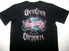 WCC OFFICIAL West Coast Choppers Tatt Black T-Shirts Small and Medium