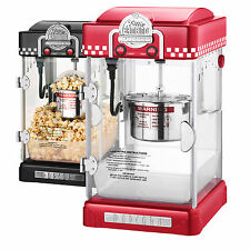GNP Little Bambino 2-1/2 Ounce Retro Style Popcorn Popper Machine Red or Black