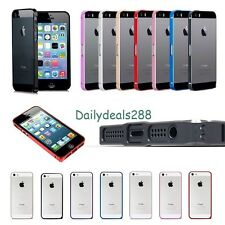 0.7mm Ultra thin Aluminum Metal Bumper Blade Case Cover Frame For iphone 5 5S