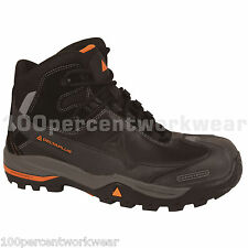 Delta Plus Panoply TW400 Mens Work Safety Boots Shoes Hiker Hiking Toe Cap Black