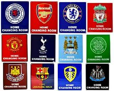 OFFICAL FOOTBALL CLUB - HOME CHANGING ROOM SIGN METAL WALL FATHERS DAY XMAS GIFT