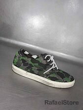 Men's Sneakers Shoes YAB Mimetic High Tech Fabric Green Gray Black Vintage New