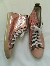 Girls / ladies Next BNWT Pink glitter ankle boots size 5 / 38