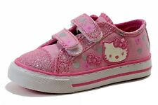 Hello Kitty Girl's HK Lil Fallon AR4380 Fashion Sneakers Pink Shoes