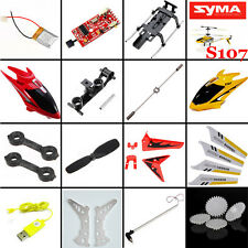 SYMA S107 S107G 3 Ch RC Helicopter Spare Parts Main Blade/Motor/Balance Bar Set