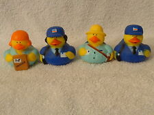"""Mail Carrier Rubber Duck Choose from 4 Different New 2"""""""