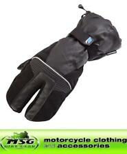 SPADA Eighty2 Claw Waterproof Textile/Leather Motorcycle Gloves Black