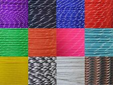 550 Type III 7 Strand Paracord Parachute Cord Glow in the Dark 10' 25' 50' 100'