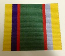 Cadet Forces Full Size Medal Ribbon, Army, Military, ACF, CFM, Long Service