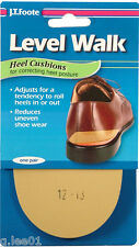 JT FOOTE LEVEL WALK Heel Wedge SHOE INSERT Correct Posture Pronation, Supination