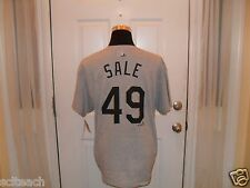 Brand New Chicago White Sox Chris Sale #48 Majestic Gray Name & # Player T-Shirt
