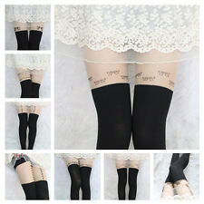 New Pattern Jacquard Leggings Tattoo Socks Sexy Pantyhose Tights Stocking 15
