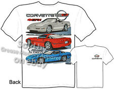 Corvette T Shirts C4 Corvette Apparel ZR-1 Chevy Tshirt Chevrolet Shirt 84-96