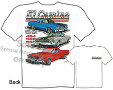 Chevy T Shirts El Camino Muscle Car Clothing 1968 1969 1970 1971 1972 Automotive