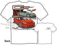 Corvette Apparel C6 Corvette T Shirts Chevy Shirt C-6 Z06 Chevrolet Vette Tee