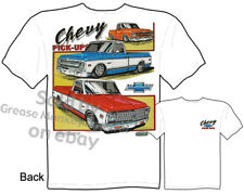 Chevrolet Clothing Chevy T Shirt Truck Tee Shirts 1967-1972 Pickup 68 69 70 71