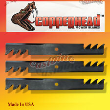 "Bob Cat, Blades 61"" Cut Mower 3 Blade Set Fits Many Commercial Mowers USA"