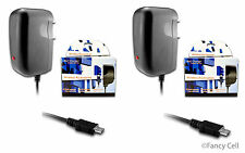 2 New Micro USB AC Universal Battery Wall Home Travel Charger Combo Cell Phones