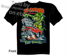 Big Daddy Clothing Ratfink T Shirts Chevy Shirt Camaro T Shirts 1967 1968 1969