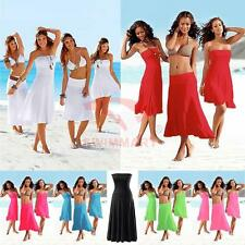Sexy Beachwear Wedding Cocktail Party Convertible Dress Skirt  AU SELLER sw022