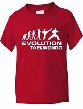 Evolution Of Taekwondo Martial Arts Funny Kids T-Shirt Birthday Gift Age 1-13