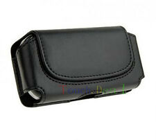 Black Belt Leather Skin Bag Pouch Case Cover FOR Apple iphone ipod itouch new UK