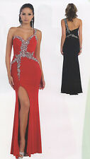 7 COLORS  PAGEANT PROM GALA  DRESSE HOMECOMING EVENING FORMAL GOWN SZ 4 TO 20
