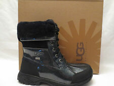 AUTHENTIC UGG AUSTRALIA BUTTE 1001964 BLK BLACK GLITTER BOOTS YOUTH SIZE 5