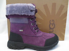 AUTHENTIC UGG AUSTRALIA BUTTE 1001674 DPP DEEP PURPLE BOOTS YOUTH SIZE 6