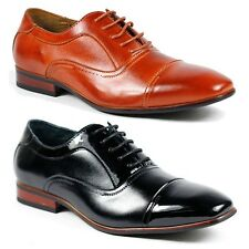 Ferro Aldo Men's Lace Up Cap Toe Oxford Dress Shoes w/ Leather Lining M-19285A