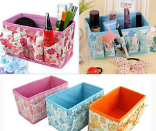 New Fashion Folding Multifunction Make Up Cosmetic Storage Box Container Bag