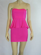 T by Bettina Liano Ladies Fashion Strapless Dress size 6 Colour Pink