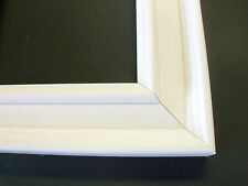 Bright White Solid Wood Picture Frame-Panoramic