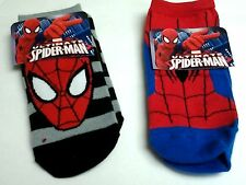 1 PAIR SPIDERMAN SOCKS BOYS 6.5-8 NWT