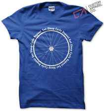 EAT SLEEP CYCLE REPEAT MENS T SHIRT CYCLING MOUNTAIN BIKE MTB ROAD TRACK TOP NEW