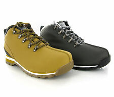 New Men Black or Tan Walking Smart Lace Up Fashion Ankle Boots Size 6-12