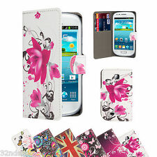 WALLET PU LEATHER CASE COVER For Samsung Galaxy Mini S5570 SCREEN PROTECTOR