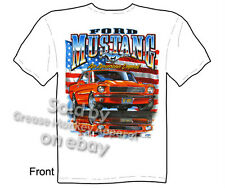 Mustang T Shirts Ford Shirt Mustang Clothing Muscle Car 1965 1966 1967 1968 Tee