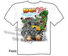 Ratfink T Shirt Nova T Shirts Chevy Shirt Muscle Car Apparel 1962 1963 1964 1965