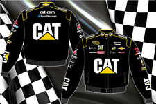 Ryan Newman Jacket Cat Caterpillar Nascar Racing Jacket Black Twill