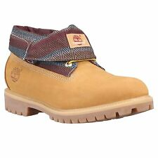 Timberland Roll Top Earthkeepers Mens Size Wheat Boots Style 6456A