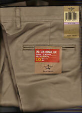 Mens Dockers Stain Defender Pants D3 Classic Pleated/Cuffed  KHAKI New