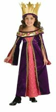 Bejeweled Princess Renaissance Maiden Queen Fancy Dress Halloween Child Costume