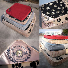 Pet Dog Puppy Samoyed Large Soft Foam Bed Removable+ Washable Pad Cushion XXL